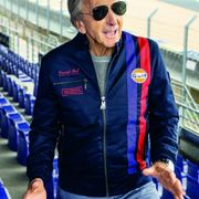 DEREK BELL SIGNATURE JACKET NAVY BLUE XXXL