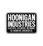 HOONIGAN SHOP STICKER BLACK/WHITE