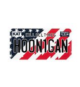 HOONIGAN STARS&STRIPES LICENSE PLATE