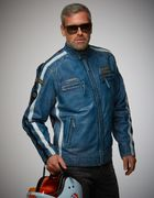 GULF RACING JACKET NAVY BLUE XXXL