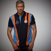 GULF 1ST VICTORY TEAM POLO NAVY BLUE XL