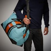 GULF TRAVEL BAG GULF BLUE MEDIUM