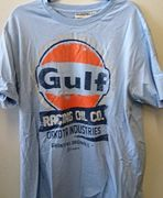 GULF OIL RACING T-SHIRT GULF BLUE XXXL