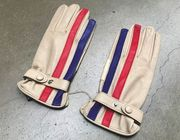 GULF STRIPE GLOVE CREAM 9,5