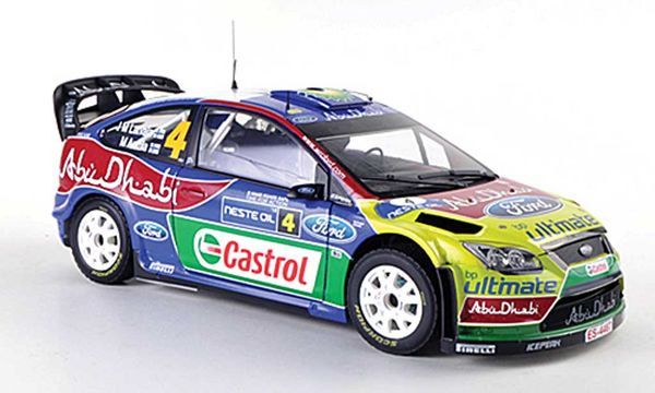 1/18 FORD FOCUS RS WRC09 NO:4 LATVALA