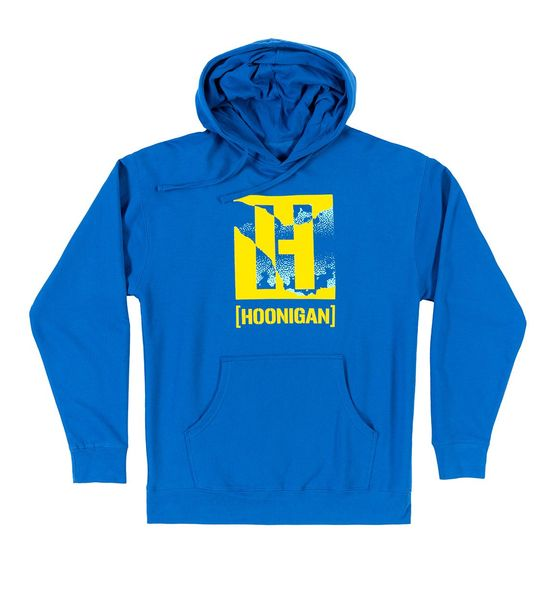 HOONIGAN RIPPED H BOX PULLOVER HOODIE RO