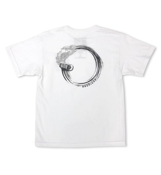 HOONIGAN DONUT YOUTH SS TEE WHITE