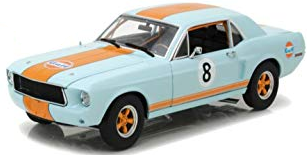 1/64 FORD MUSTANG 1967 GULF OIL