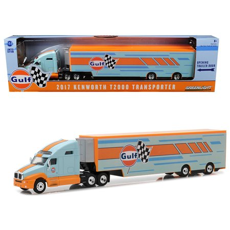 1/64 KENWORTH T2000 2017 GULF OIL REKKA