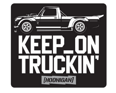 HOONIGAN KEEP ON TRUCKIN STICKER ASSORTE